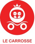 Logo Carrosse Rouge + text